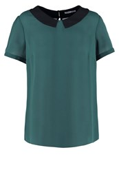 Mintandberry Blouse Dark Green