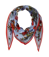 Vince Camuto You're The Bees Knees Kite Sky Red Scarves Blue
