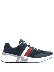 Tommy Hilfiger Striped Sneakers Blue