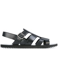 Givenchy Open Toe Sandals Black