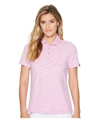 Skechers Performance Go Golf Space Dye Polo Light Pink Clothing