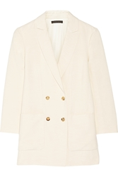The Row Maguire Double Breasted Shantung Blazer