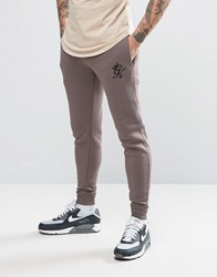 Gym King Joggers In Skinny Fit Grey
