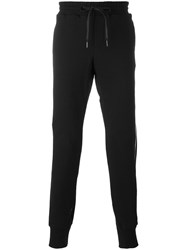 D.Gnak Side Stripes Sweatpants Black