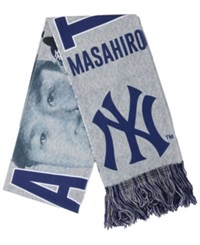 Forever Collectibles Masahiro Tanaka New York Yankees Sublimated Player Scarf Navy Gray