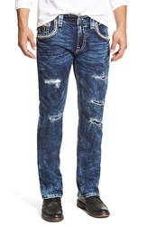 Rock Revival 'Tyson Alternative' Slim Straight Leg Jeans Acid Blue