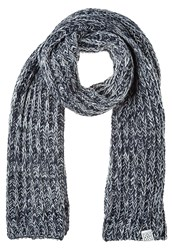 Your Turn Scarf Grey Melange Mottled Grey