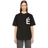 Etudes Studio Black Wonder Accent T Shirt