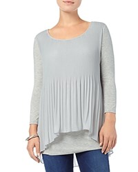 Phase Eight Betsy Pleated Split Back Top