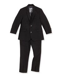 Appaman Boys' Two Piece Mod Suit Black 2T 14 Boy's