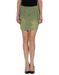 Gianfranco Ferre Gf Ferre' Knee Length Skirts Military Green