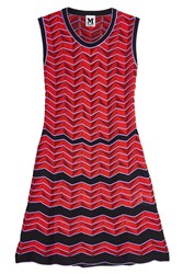 M Missoni Sleeveless Knit Dress Multicolored