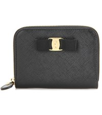 Salvatore Ferragamo Leather Wallet Black