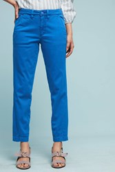 Anthropologie Relaxed Chino Pants Blue