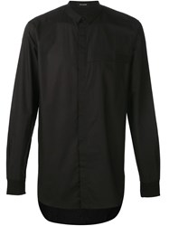 Stampd Boxy Long Tail Shirt Black