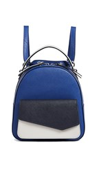 Botkier Cobble Hill Mini Backpack Blue Combo