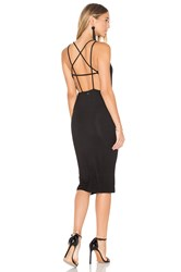 Obey Joan Strap Back Dress Black