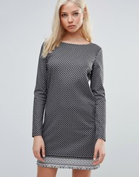 Vero Moda Short Zipper Dress Black