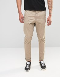 Dr. Denim Dr Denim Relaxed Tapered Rusty Chino Khaki Khaki Beige