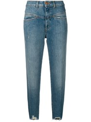 Closed Pedal Pusher Jeans Blue