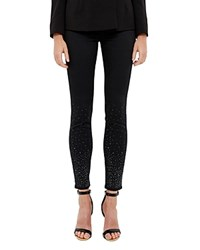 Ted Baker Embellished Jeans In Black