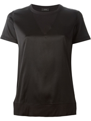 Joseph Two Tone T Shirt Black