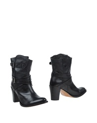 Sendra Ankle Boots Black