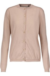 Marni Cotton Blend Cardigan Neutral