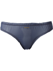 Diesel Sheer Briefs Blue