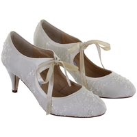 Rainbow Club Miss Alice Mary Jane Heels Ivory