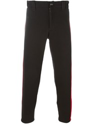 Ktz Side Stripe Detail Trousers Black
