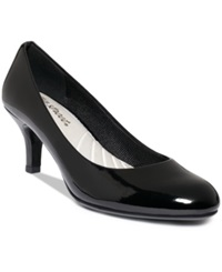 Easy Street Shoes Easy Street Passion Pumps Women's Shoes Black Patent