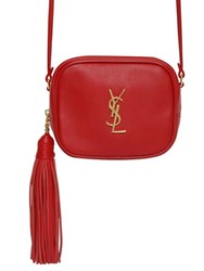 Saint Laurent Monogram Blogger Leather Bag