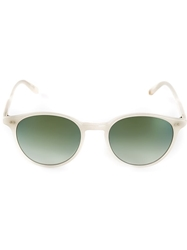 Garrett Leight 'Pacific' Sunglasses Metallic