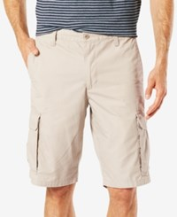 Dockers Stretch Classic Fit 10.5 Washed Cargo Shorts D4 Burma Grey