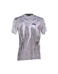 Octopus Topwear T Shirts Men Light Grey