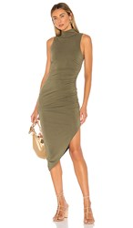 House Of Harlow 1960 X Revolve Violet Dress In Green. Olive Green