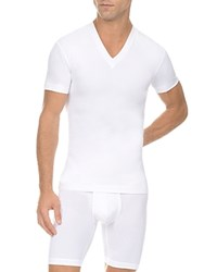 2Xist 2 X Ist Form V Neck Tee White