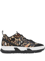 Burberry Leopard Print Union Sneakers 60