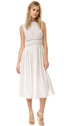 Zimmermann Zephyr Broderie Picnic Dress Ivory