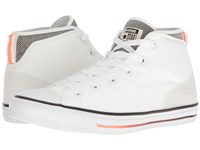 Converse Chuck Taylor All Star Syde Street Summer Mid White Black Hyper Orange Men's Classic Shoes Blue
