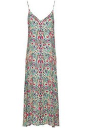 Tart Collections Printed Crepe Midi Dress Multicolor