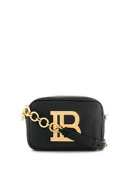 Balmain B Logo Cross Body Bag Black