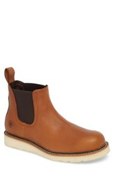 Ariat Rambler Recon Mid Chelsea Boot Golden Grizzly