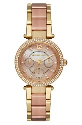 Michael Michael Kors Women's 'Parker Mini' Multifunction Watch 33Mm
