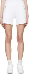 Gosha Rubchinskiy White Terry Zip Shorts