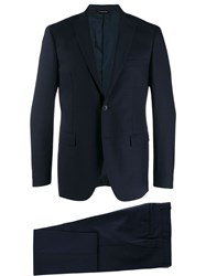 Tonello Tailored Two Piece Suit Blue