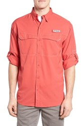 Columbia Men's Low Drag Offshore Woven Shirt Sunset Red