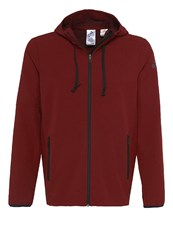 Adidas Performance Extreme Workout Tracksuit Top Collegiate Burgundy Dark Red