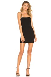 Amanda Uprichard X Revolve Sheldyn Mini Dress Black